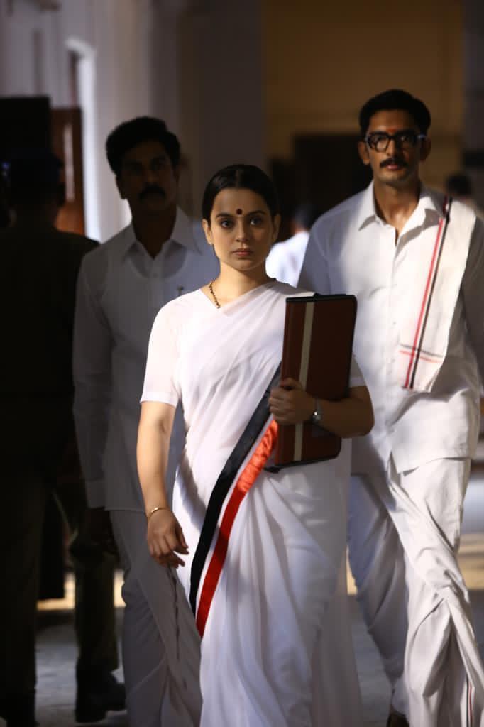 Kangana Ranaut Shares Stills From Thalaivi On Jayalalithaa's Death Anniversary