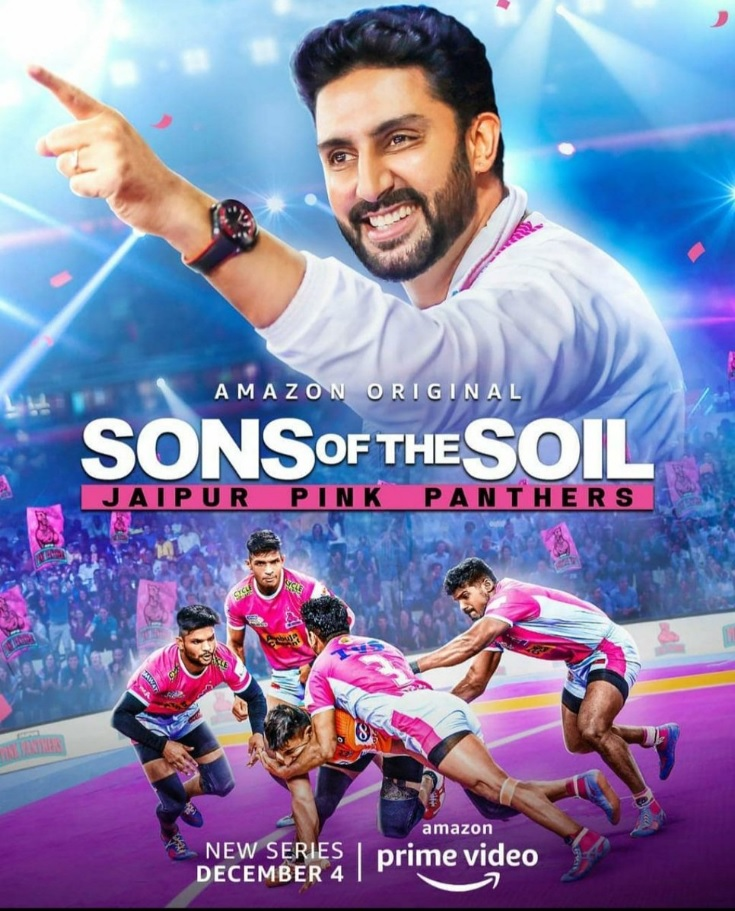 """""""If I get a chance I'd like to practice with them"""", Says Abhishek Bachchan, Owner Of Jaipur Pink Panthers Ahead Of Amazon Prime Video's 'Sons of the Soil' Release"""