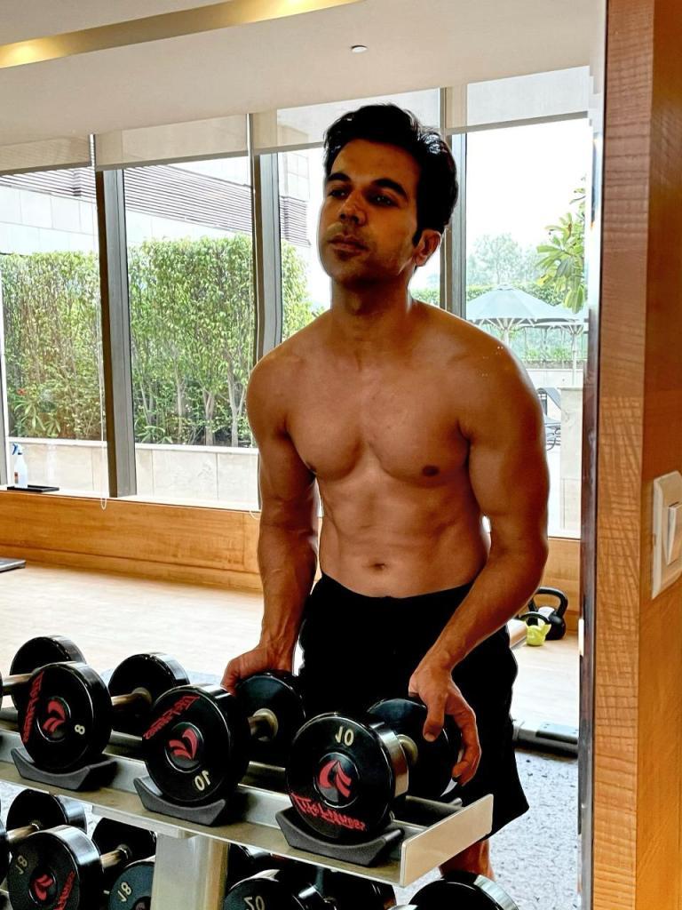 Rajkummar Rao Undergoes Physical Transformation For 'Badhaai Do'!