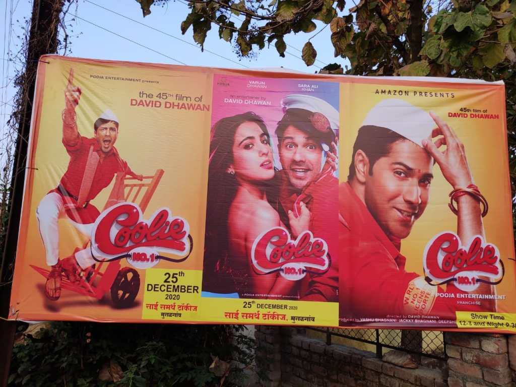 Doomsday For Cinemas Forcing Owners To Play Pirated Copy Of Coolie No. 1 After Doing The Same With Durgamati!