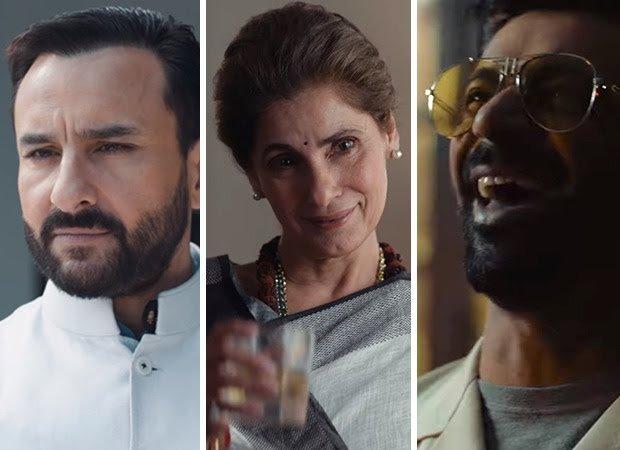 The Powerful Teaser Of Saif Ali Khan, Dimple Kapadia, Mohd. Zeeshaan Ayyub Sunil Grover Starrer Political Drama, Tandav Is OUT!