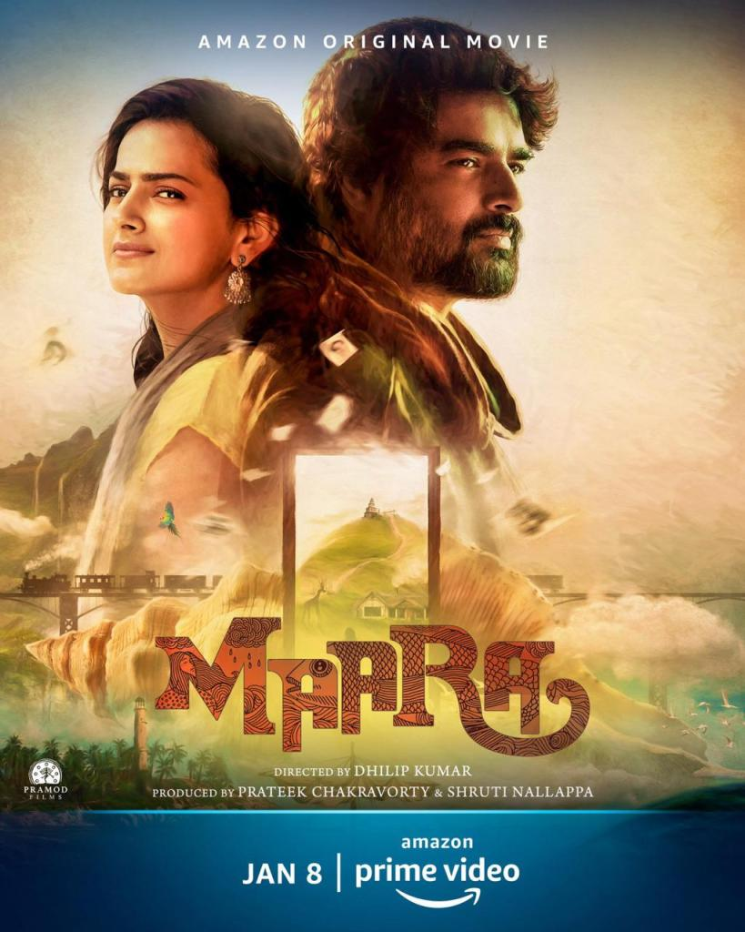 Amazon Original Movie Maara Starring R. Madhavan And Shraddha Srinath To Release Globally On January 8, 2021; Poster OUT!