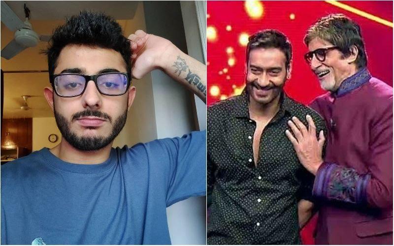 Youtuber CarryMinati AKA Ajey Nagar Joins Ajey Devgn & Amitabh Bachchan Starrer Mayday, To Play His 'Own Self'