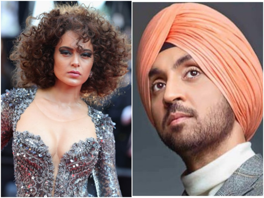 Diljit Dosanjh Along With Various Artists Slams Kangana Ranaut, As They Extend Support To The Farmers