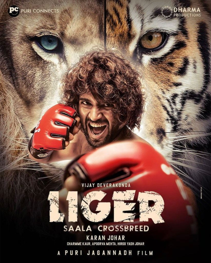 Dharma Productions Unveiled The First Look Poster Of Vijay Deverakonda – Ananya Pandey's 'Liger'