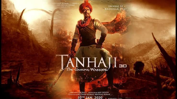 Tanhaji: The Unsung Warrior Becomes The Third Most Searched Film Of Google In 2020 As It Completes A Year!