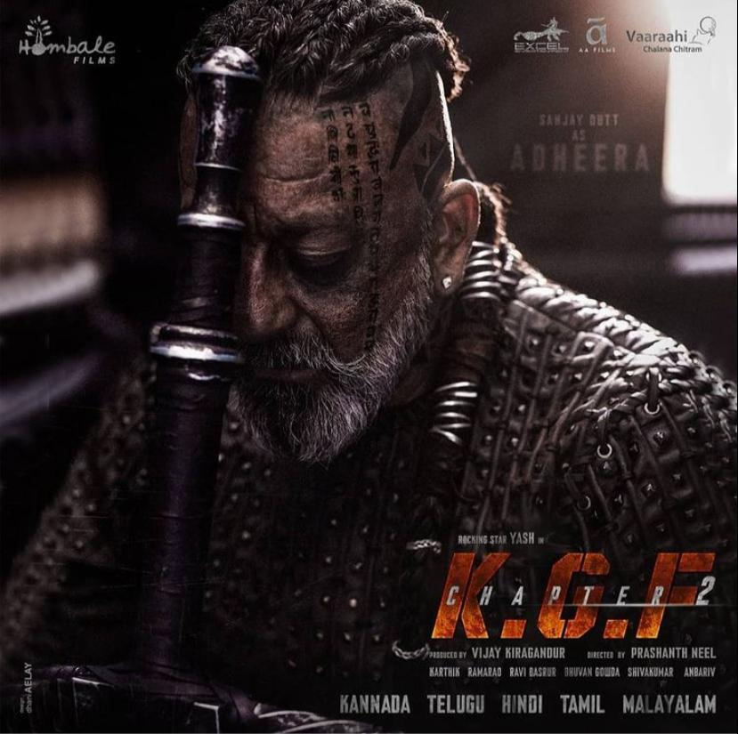 Sanjay Dutt Is Extremely Excited For His First Pan-India Film, 'KGF Chapter:2'!