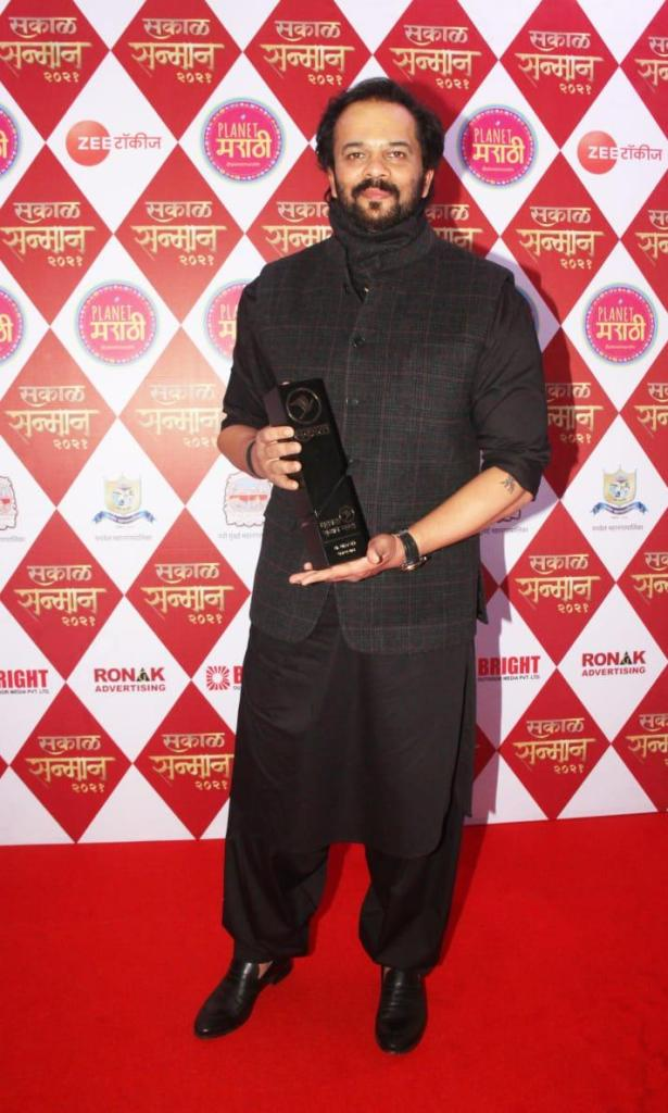 Rohit Shetty Honored With Yet Another Award For His Contribution To Fighting The Pandemic!