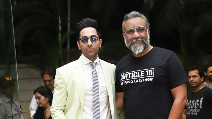 Ayushmann Khurrana Join Hands With Anubhav Sinha For An Action Thriller, The Actor To Play A Spy Thriller