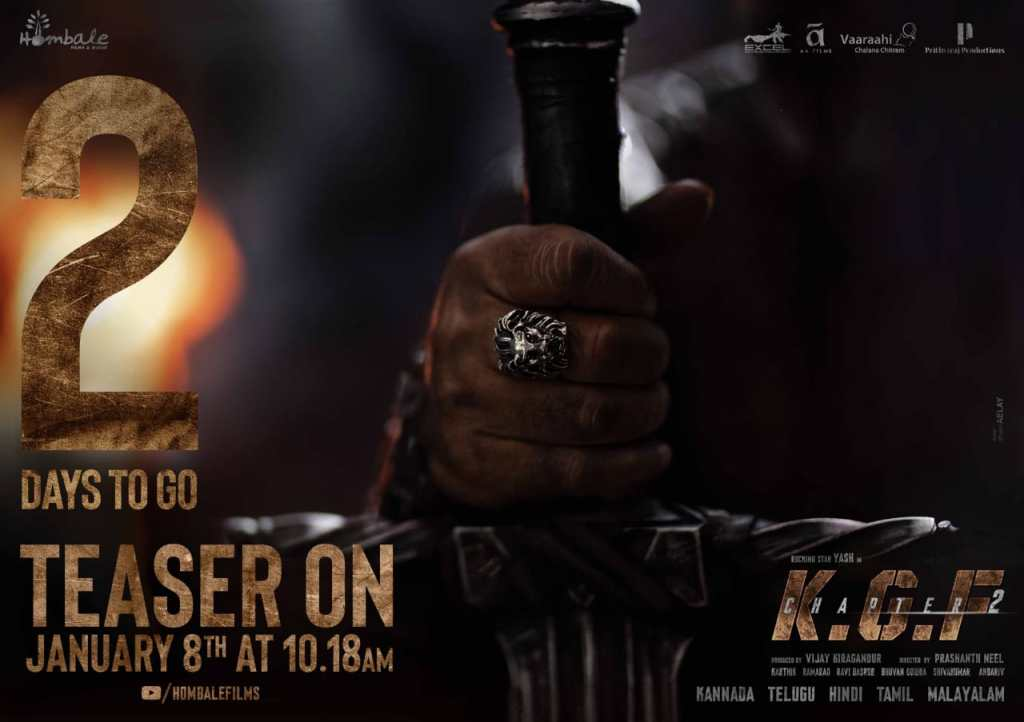 Times Ahead Of The Release Of KGF Chapter 2 Teaser; Makers Share BTS Pictures And Trivia From The Sets