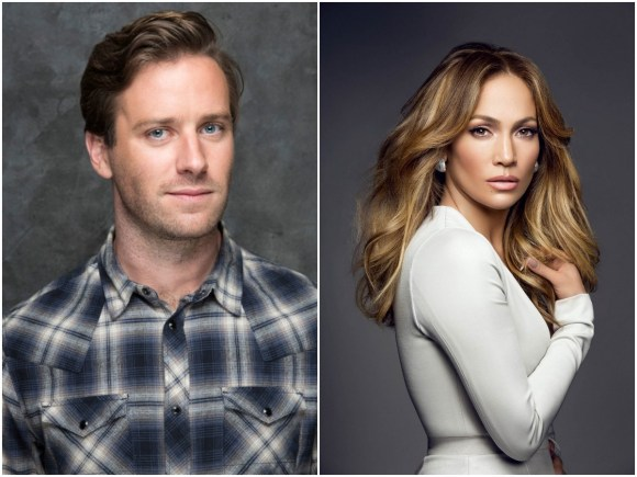 Amid Social Media Controversy, Armie Hammer Walks Off From Jennifer Lopez's Shotgun Wedding
