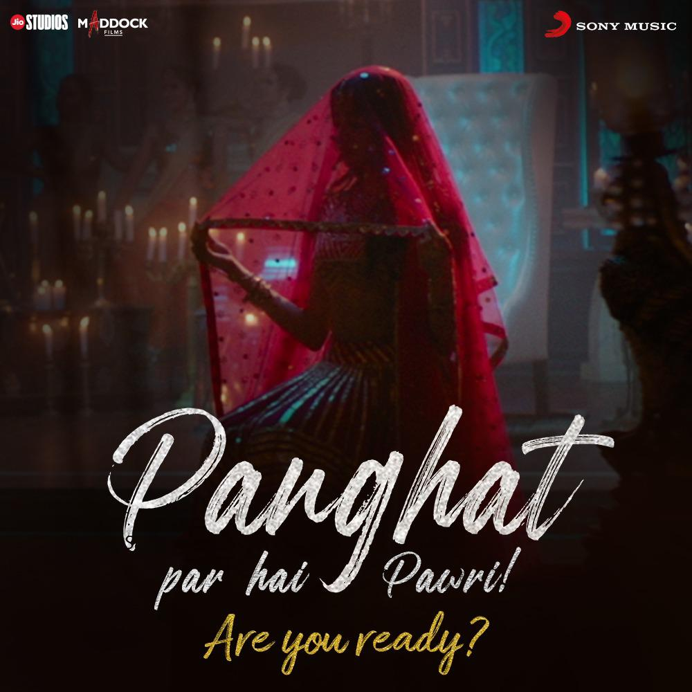 ROOHI: Janhvi Unveils A Sizzling Surprise! Watch Out For The Panghat Song On Monday!