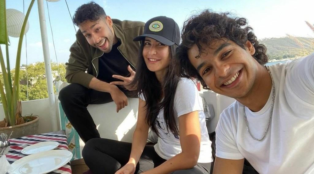 PHOTOS: The Phone Bhoot Gang Including Katrina Kaif, Ishaan Khatter & Siddhant Chaturvedi Are Having All The Fun Times