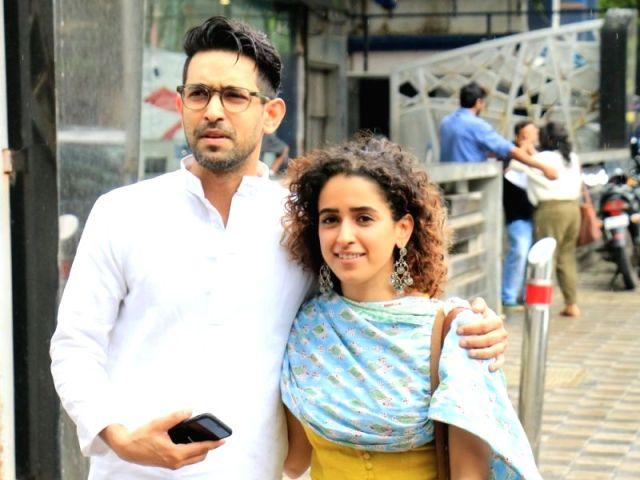 Sanya Malhotra Begins Work On Love Hostel With Vikrant Massey