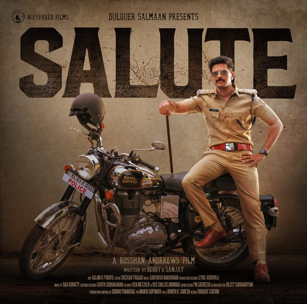 First Look Poster Out: Dulquer Salmaan's Film With Diana Penty Is Titled Salute
