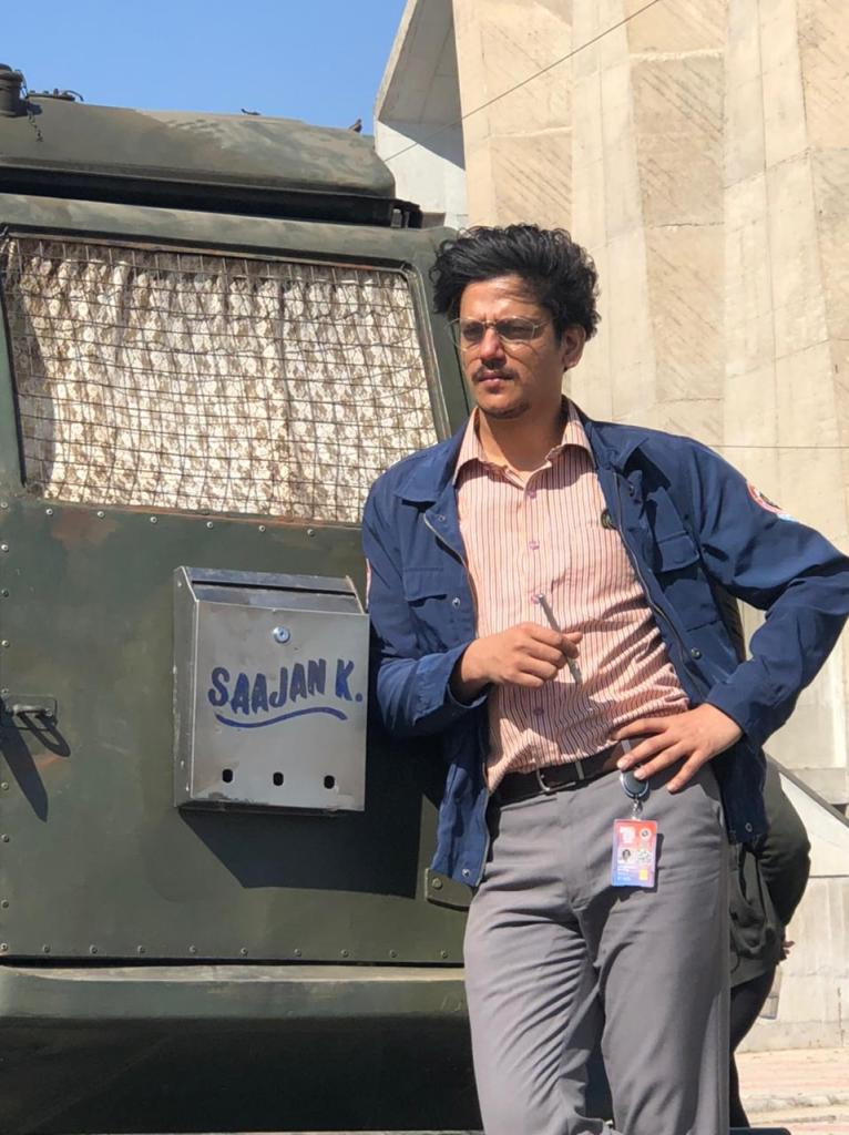 """Vijay Varma Says, """"Eversince the trailer has released yesterday, my phone hasn't stopped buzzing and our hard work has paid off"""" Full Quote Further"""
