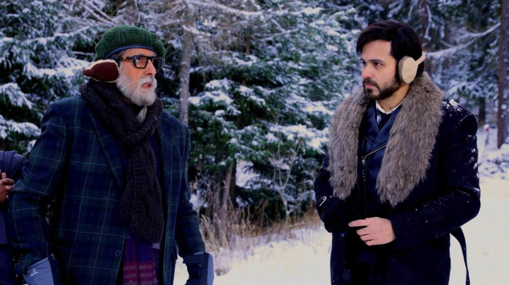 """""""More than a co-actor, he has been a tutor and a friend to me during the shoots of Chehre,"""" Emraan Hashmi on Working With Amitabh Bachchan In Chehre"""