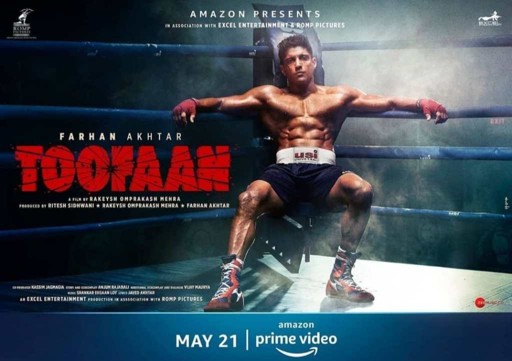 Farhan Akhtar Shares BTS Video Of Him Training For 'Toofaan' , Says 'be light on your feet'
