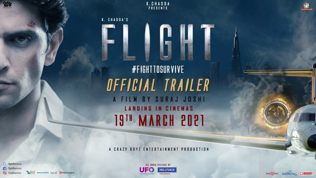 Witness The Ultimate Fight To Survive In Flight, In Cinemas On 19th March 2021, Trailer Out Now!