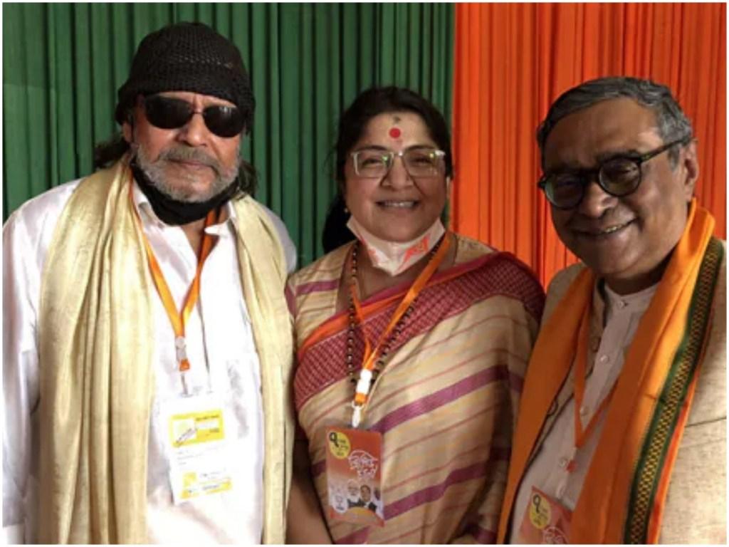 Mithun Chakraborty Joins BJP A Little Before PM Narendra Modi's Kolkata Rally