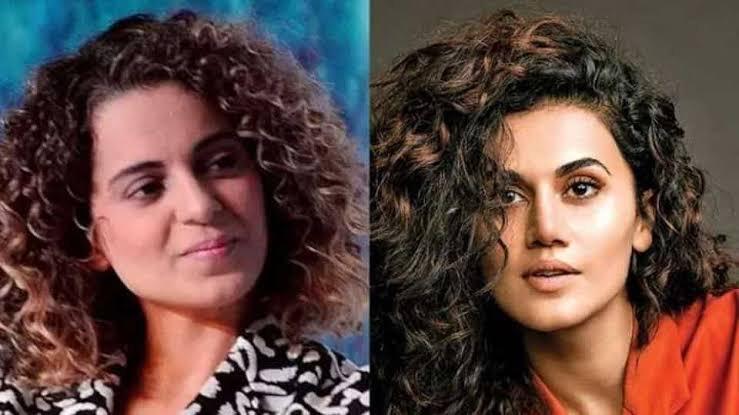 Taapsee Pannu Thanked Kangana Ranaut While Accepting Filmfare, Kangana Praised Her Back!