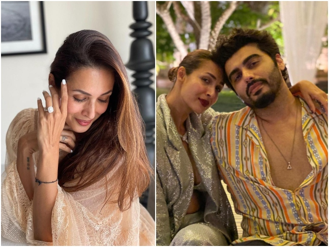 Malaika Arora Posts A Picture Flaunting A Diamond Ring, Did Arjun Kapoor Popped The Question, Asks Fans!
