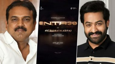 NTR 30: It's Official! Jr NTR To Join Hands With Koratala Siva Once Again