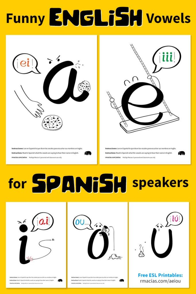 funny english vowels for spanish speakers pdf box of ideas imaginative and educational kids. Black Bedroom Furniture Sets. Home Design Ideas