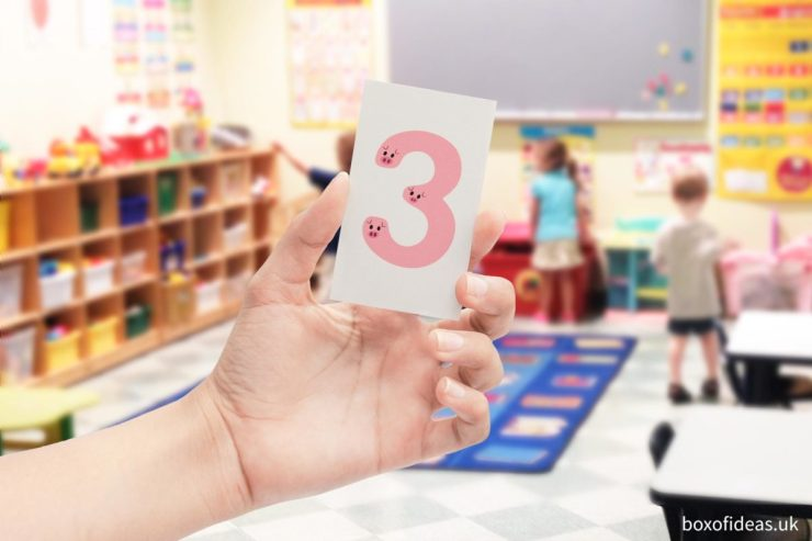 1 to 10 Printable numbers in different languages #numeracy #numbers #earlychildhoodeducation #kindergarten