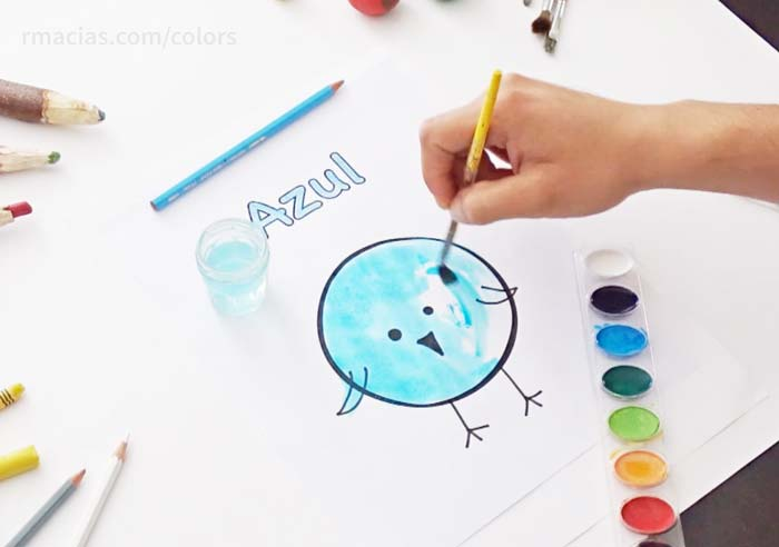 Colors and Creativity: A Preschool Game Idea to Practice Color Names ...