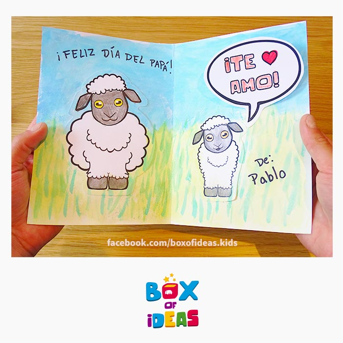 Modern DIY Father's Day Card Idea that Suits All Kinds of