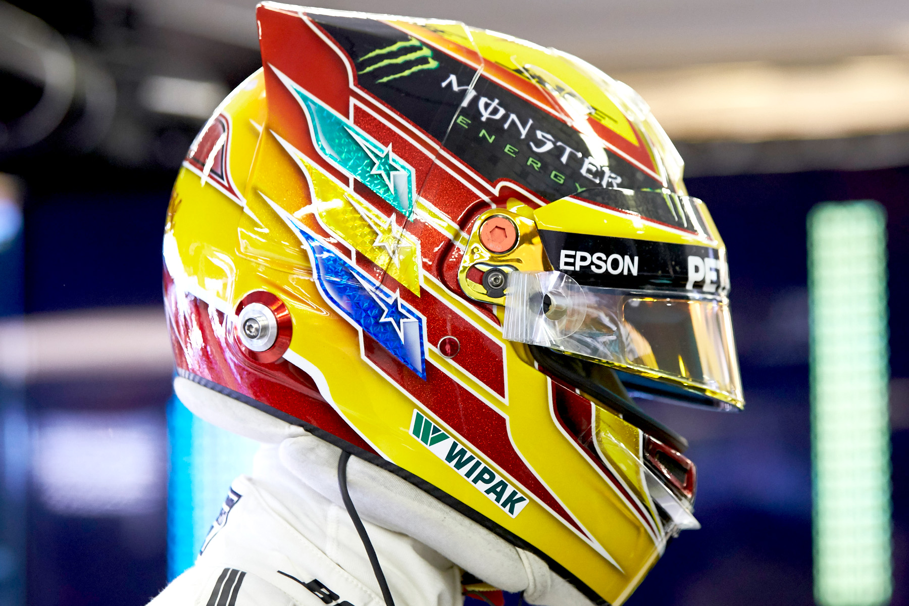 Lewis Hamilton at the 2017 Hungarian Grand Prix.