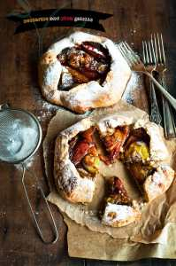Nectarine and Plum Mini Galettes
