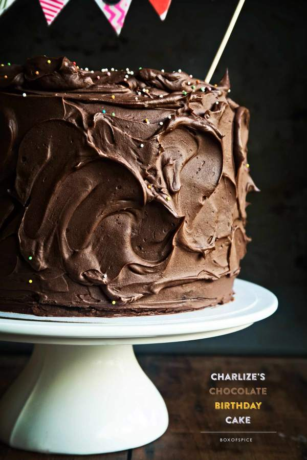 Charlize's Chocolate Birthday Cake