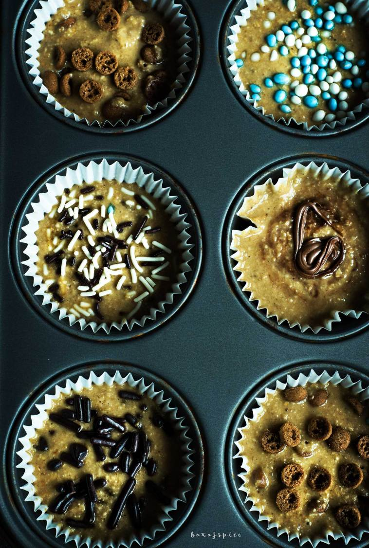 20 Minute Whole Wheat Banana Muffins I Boxofspice