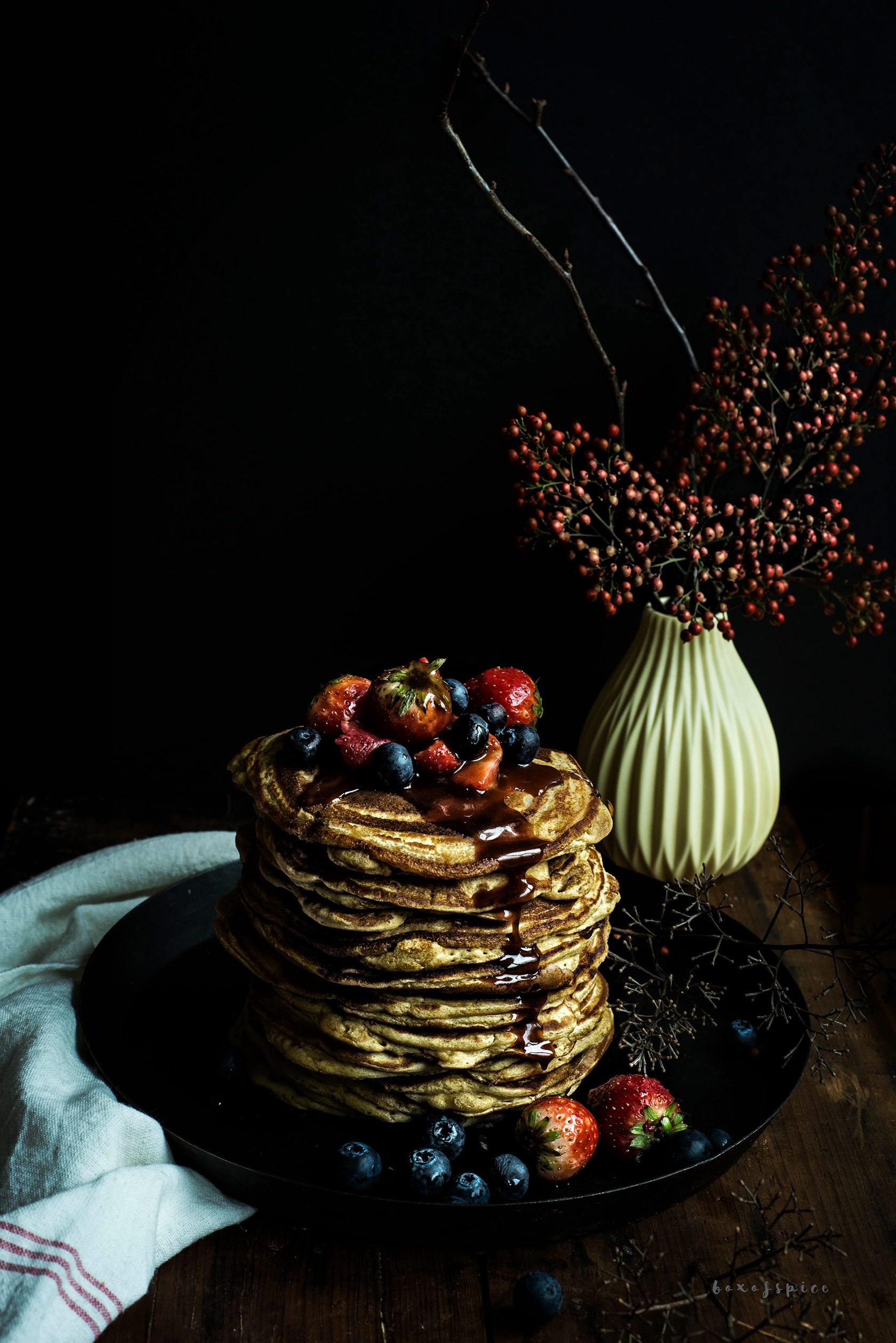 Atta Whole Wheat Flour Pancakes With Cardamom Box Of Spice
