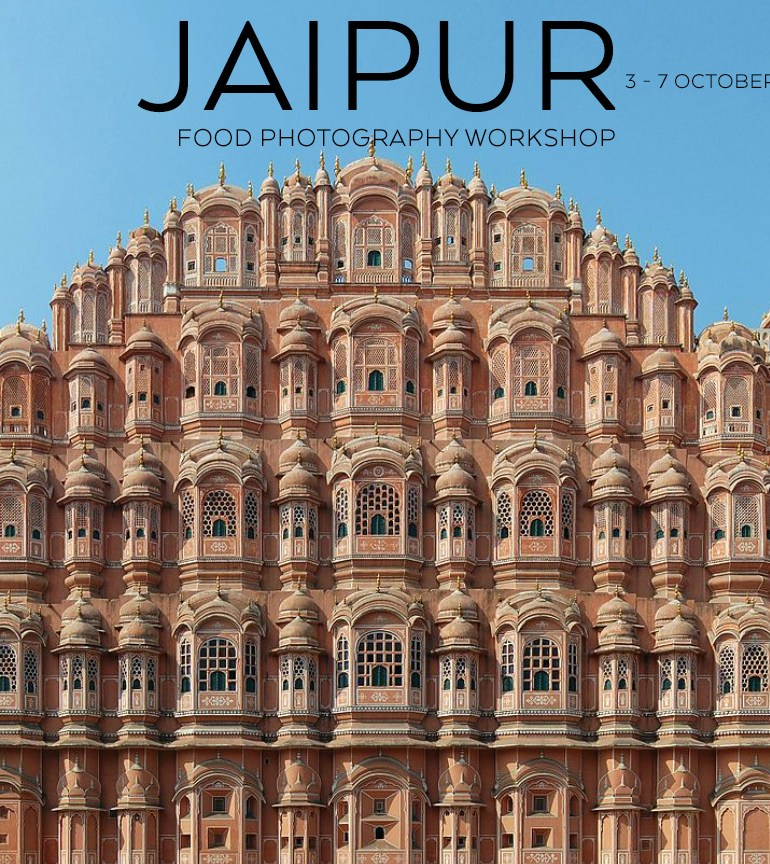JAIPUR Food Photography Workshop 3 – 7 October