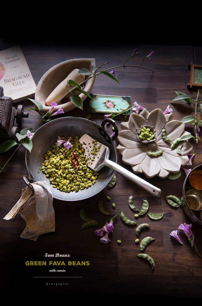 Sem/Fava Beans with Cumin