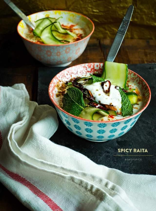 Spicy Raita