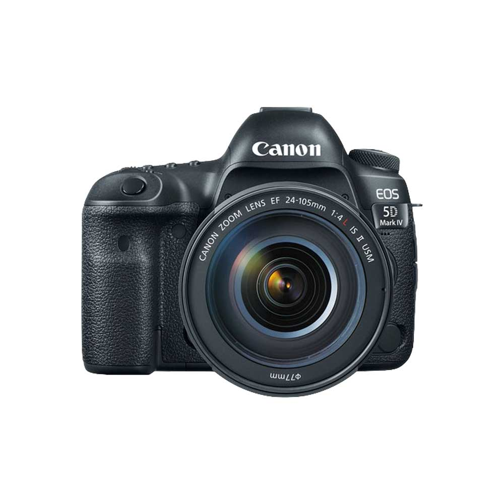 Canon EOS 5D Mark IV with 24-105mm IS II USM Lens