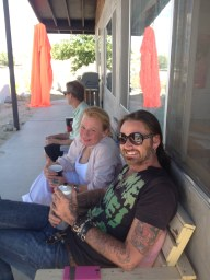 Aaron Sheppard and Kiki Seror at BoxoHOUSE