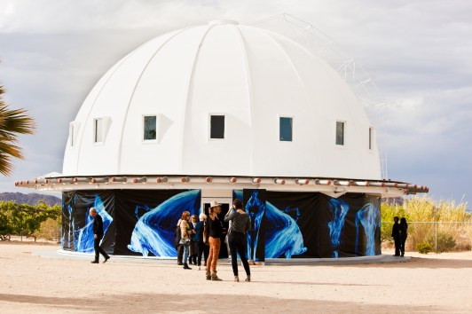 Moses Hacmon at the Integratron
