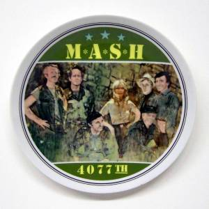 MASH Commemorative Plate