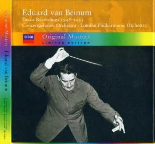 Edward van Beinum - The Decca Recordings 1948-1953 (5 CD box set, APE)