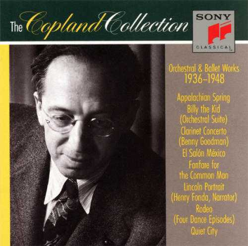 The Copland Collection: Orchestral & Ballet Works, 1936-1948 (3CD, FLAC)