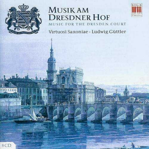 Music for the Dresden Court (8 CD box set, FLAC)
