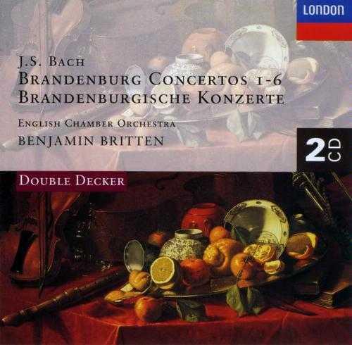 Britten: Bach - Brandenburg Concertos 1-6