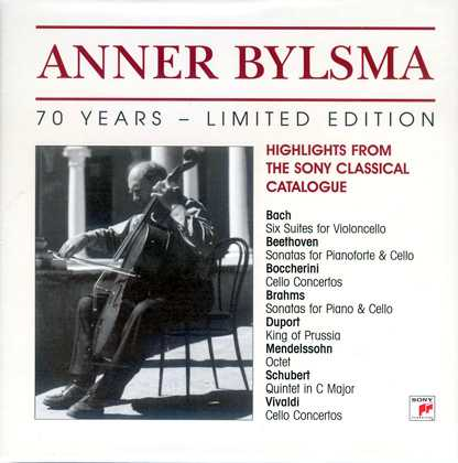 Anner Bylsma - 70 Years, Limited Edition (11 CD box set, FLAC)
