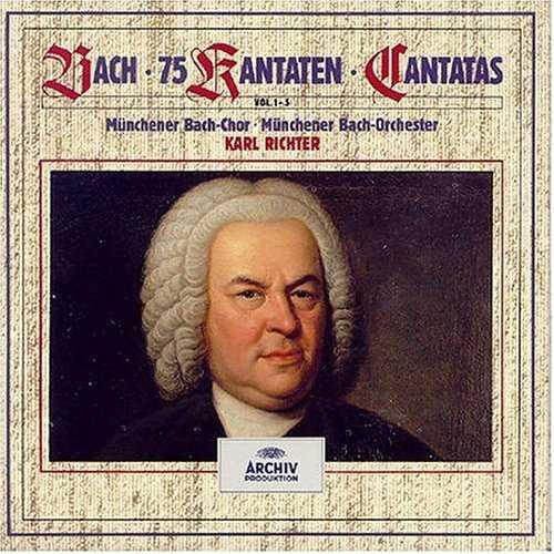 Richter: 75 Bach Cantatas (26 CD box set, APE)