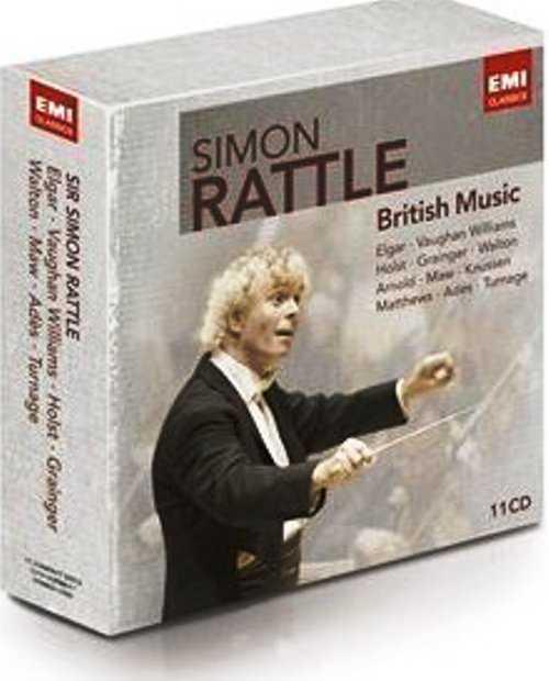 Simon Rattle: British Music (11 CD box set, FLAC)